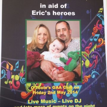 fundraiser for Eric