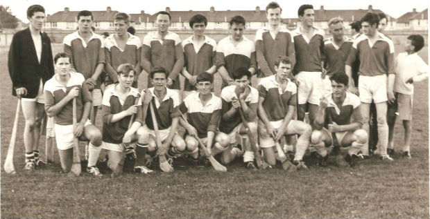 Intermediate Hurling Finalists O Toole Park 1966