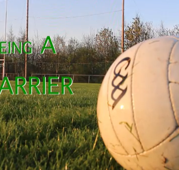 Screen grab of being a larrier by Aaron Lynch